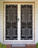 Cast Security Door