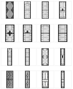Features Include: Cast Security Door Panel Designs