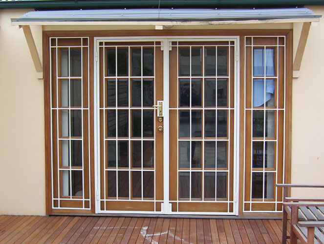 Security doors sydney australia for Custom design windows