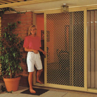 Security Screen Door